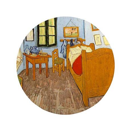 """Vincents Room 3.5"""" Button"""