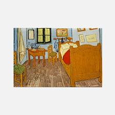 Vincents Room Rectangle Magnet