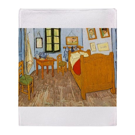 Vincents Room Throw Blanket