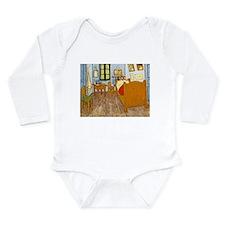 Vincents Room Long Sleeve Infant Bodysuit