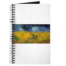Wheat Field Under Threatening Journal