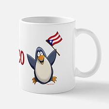 Puerto Rico Penguin Mug