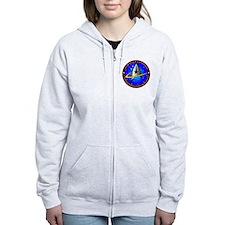 Star Fleet Command Zip Hoodie