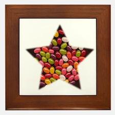 CANDY JELLYBEAN STAR Framed Tile