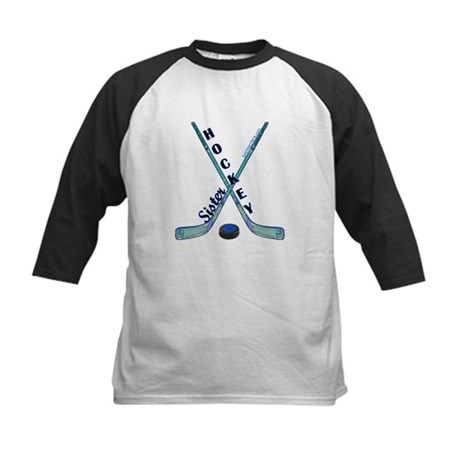 HOCKEY SISTER Kids Baseball Jersey