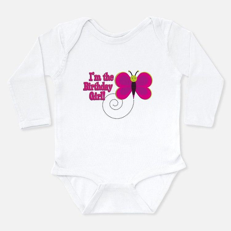 Birthday Girl Long Sleeve Infant Bodysuit