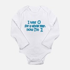 Baby Boy's First B-day Long Sleeve Infant Bodysuit