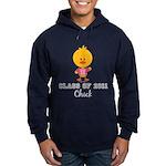 Senior 2011 Chick Hoodie (dark)