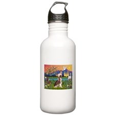 Chinese Crested Fantasyland Water Bottle