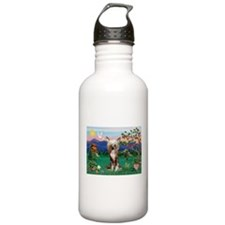 Pagoda/Chinese Crested Water Bottle