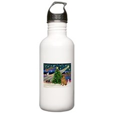 XmasMagic/Sharpei Water Bottle
