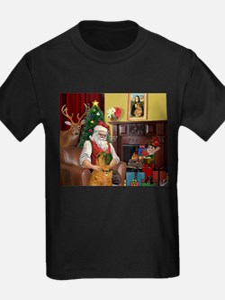 Santa's Shar Pei T