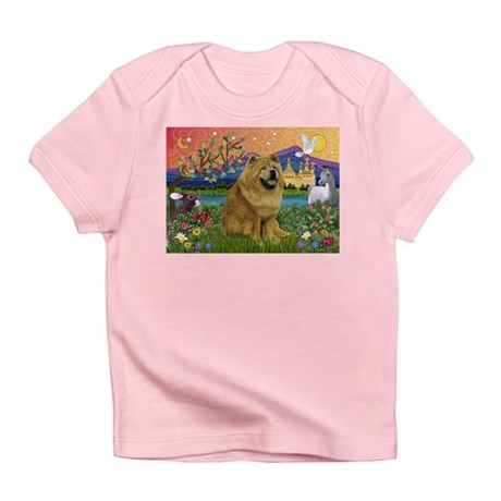 Chow Chow in Fantasyland Infant T-Shirt