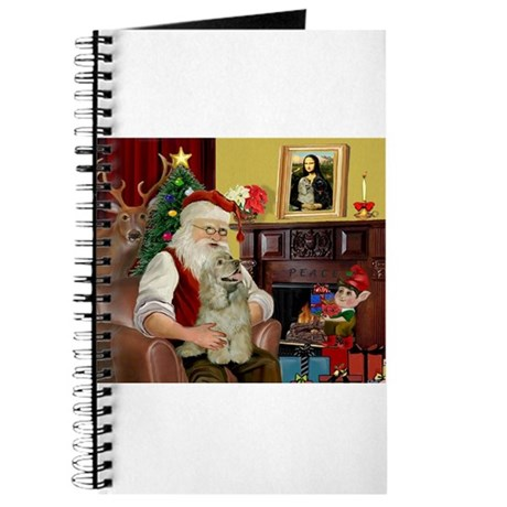 Santa's Buff Cocker Journal