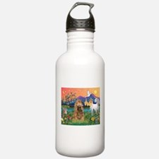Fantasy Land/Cocker (brn) Water Bottle