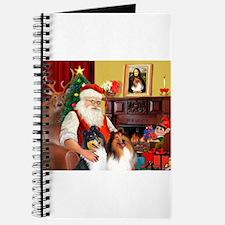 Santa's Collie pair Journal