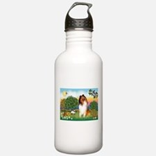 Appletrees / Collie (s) Water Bottle