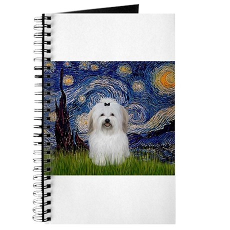 Starry Night Coton Journal