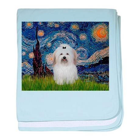 Starry Night Coton baby blanket