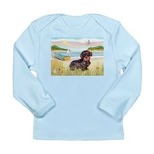 Rowboat / Wire Haired Dacahsh Long Sleeve Infant T