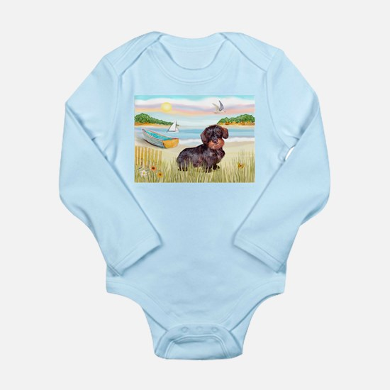 Rowboat / Wire Haired Dacahsh Long Sleeve Infant B