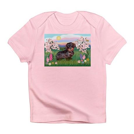 Blossoms / Dachshund Infant T-Shirt