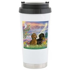 Cloud Angel Doxies Travel Mug