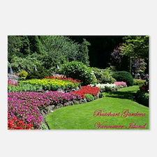 Flowers 2 BG, VI Postcards (Package of 8)