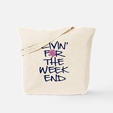 Funny Livin Tote Bag