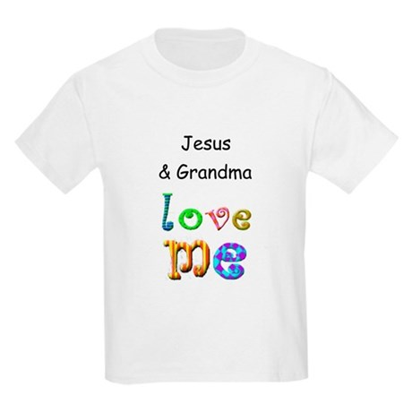 Jesus, Daddy & Mommy Love Me Kids Light T-Shirt