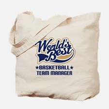 Basketball Team Manager Tote Bag