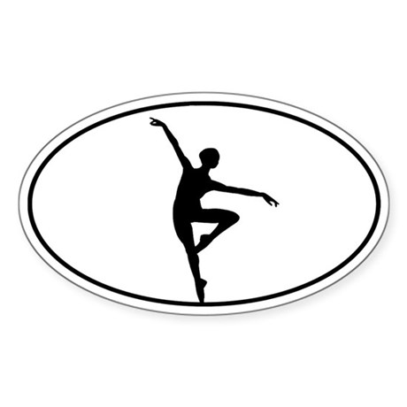 Just Dance Sticker (Oval)