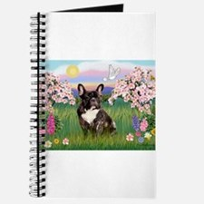 Blossoms & French Bulldog Journal
