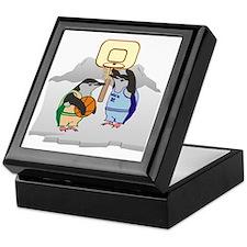 Penguin Basketball Keepsake Box