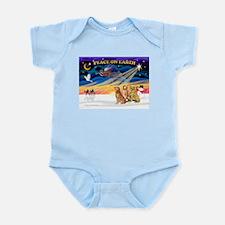 XmasSunrise/3 Goldens Infant Bodysuit
