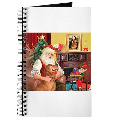 Santa's Golden (#3) Journal