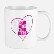 Lead With Your Heart Small Mugs