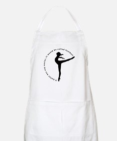 If ballet was any easier... Apron