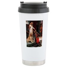 The Princess's Golden Travel Mug
