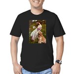 Windflowers & Golden Men's Fitted T-Shirt (dark)