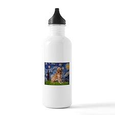 Starry / Golden (B) Water Bottle
