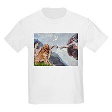 Creation of Golden Retreiver T-Shirt