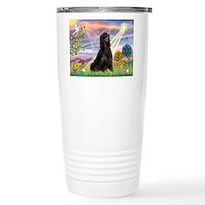 Cloud Angel & Gordon Setter Thermos Mug