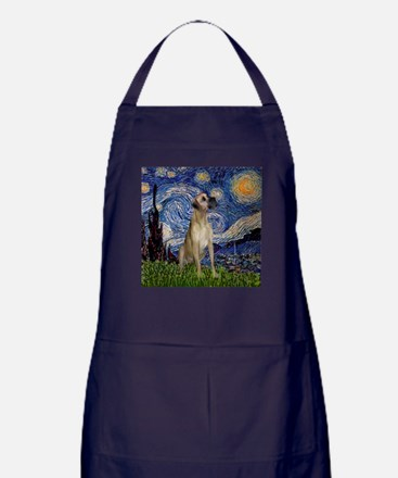 Starry Night Great Dane Apron (dark)