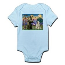 St. Francis & Great Pyrenees Infant Bodysuit