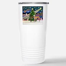 XmasMagic/2Greyhounds Travel Mug