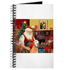 Santa's Greyhound pair Journal