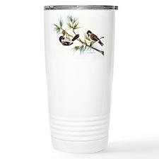Two Chickadees Travel Coffee Mug