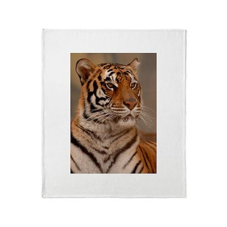 Regal Pose Throw Blanket