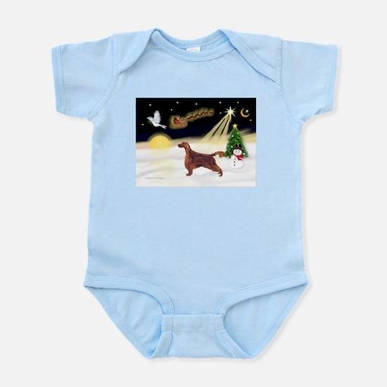Night Flight/Irish Setter Infant Bodysuit